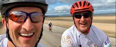 Charity fundraising a 'wheel' success