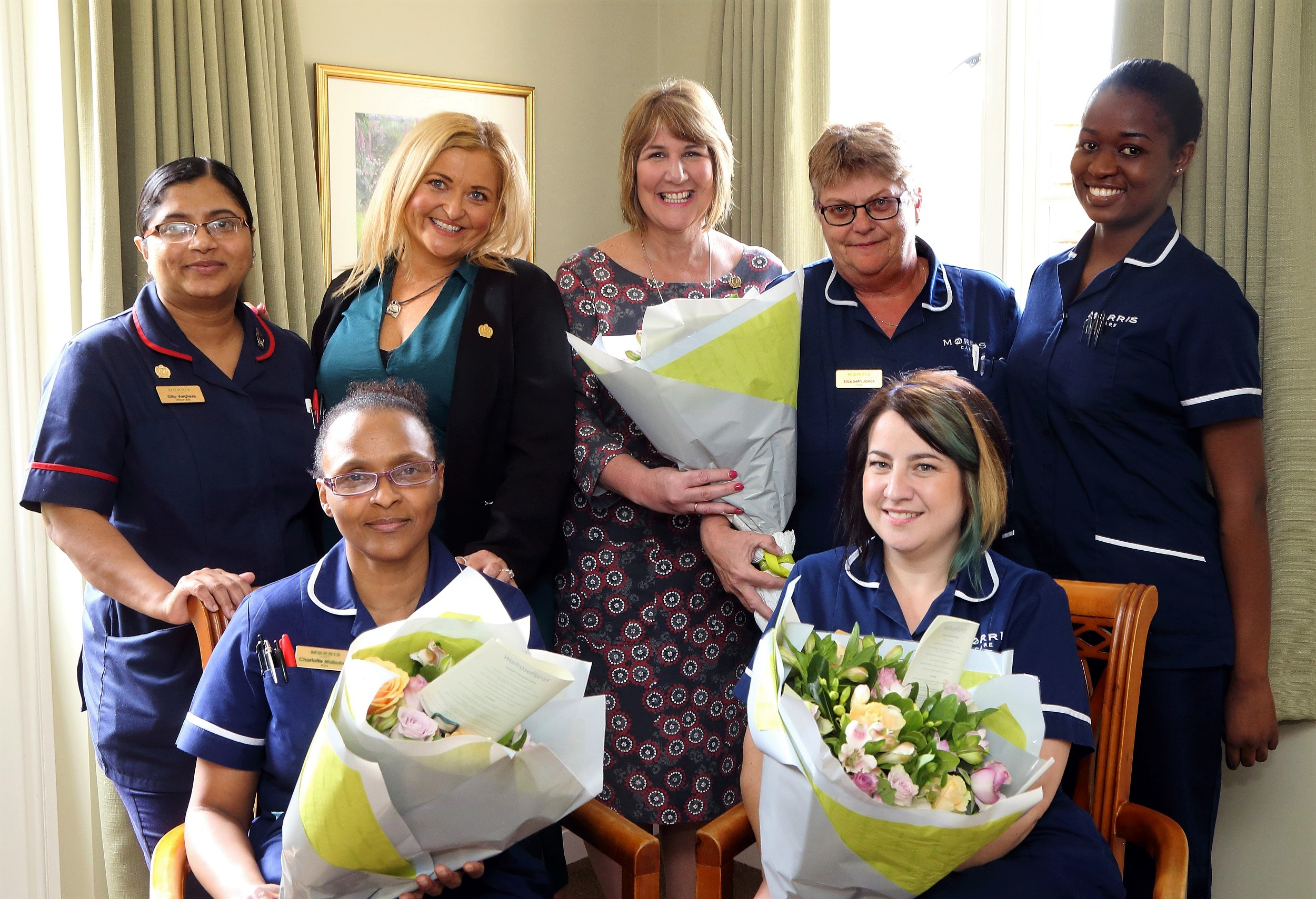 Morris Care Nurses celebrated for International Day