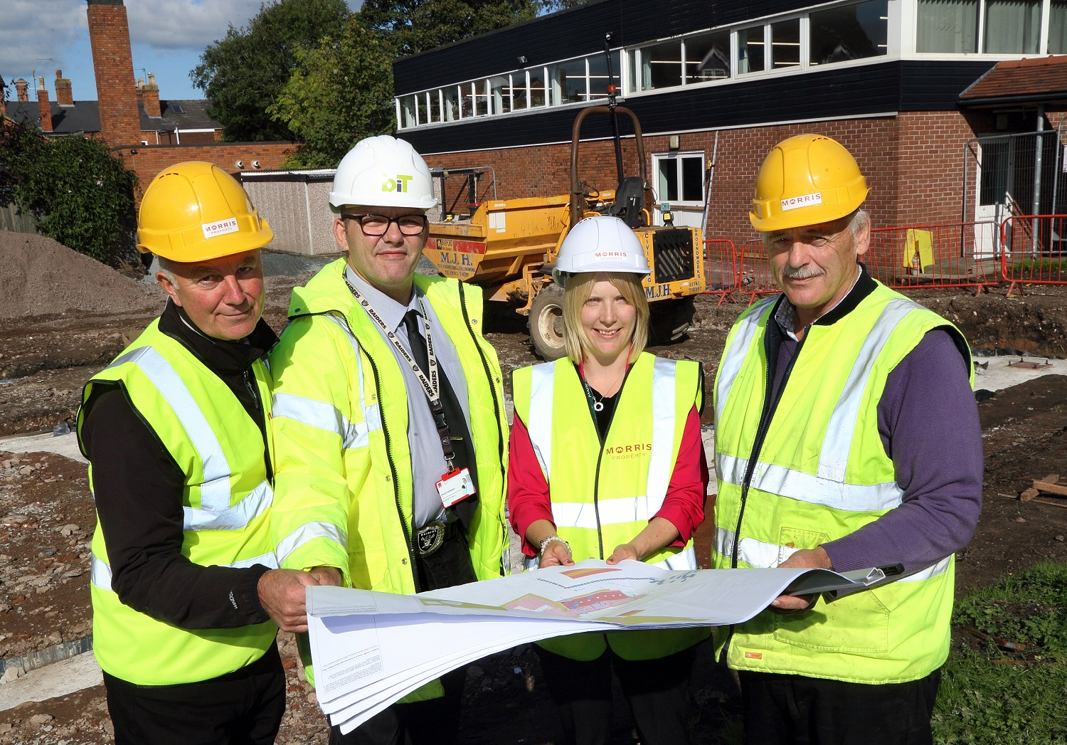 Second school contract for leading construction company