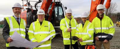 Shropshire contractor chosen to deliver new Oswestry HQ