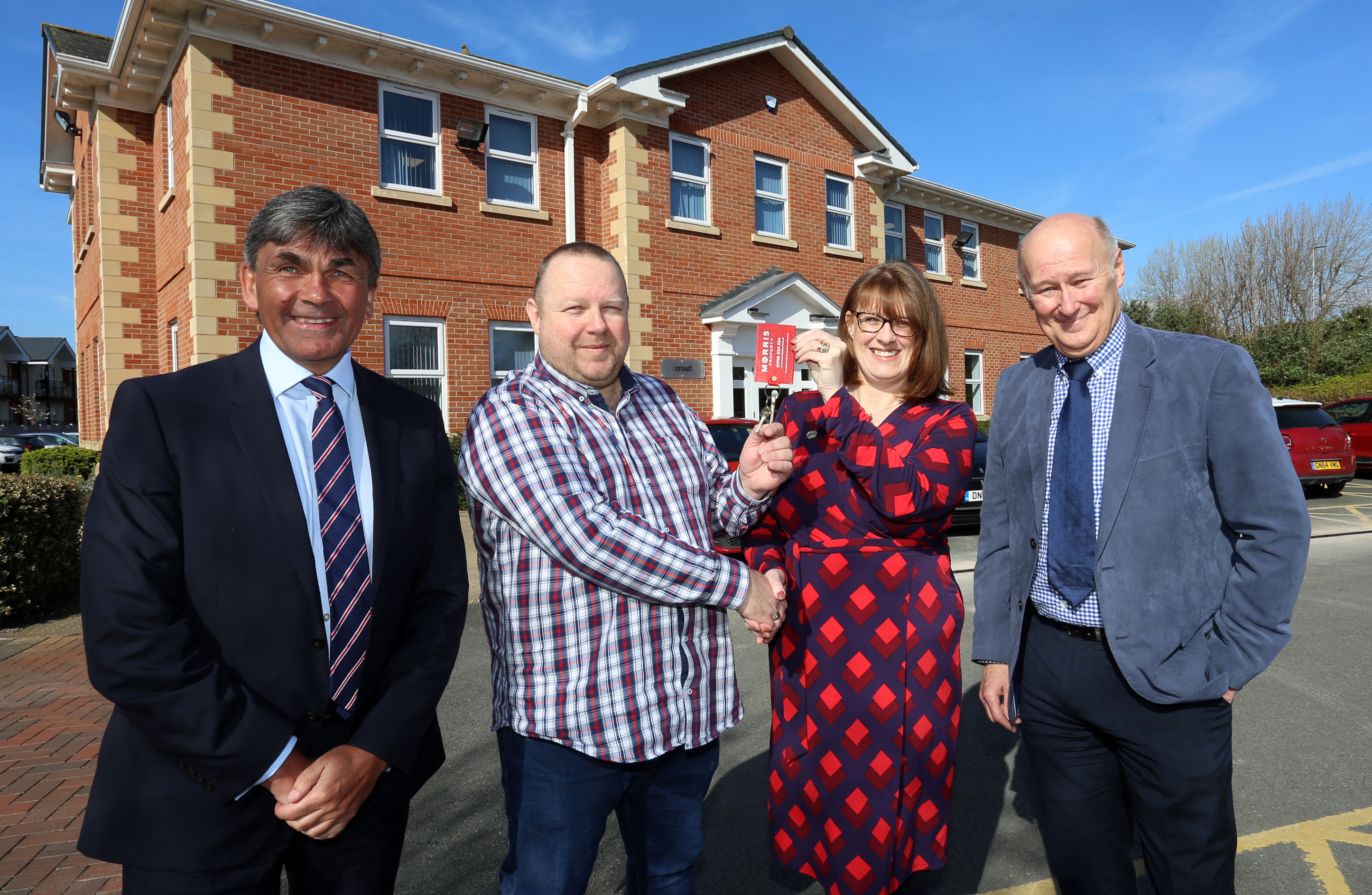 Shrewsbury Business Park supports growth and good neighbours