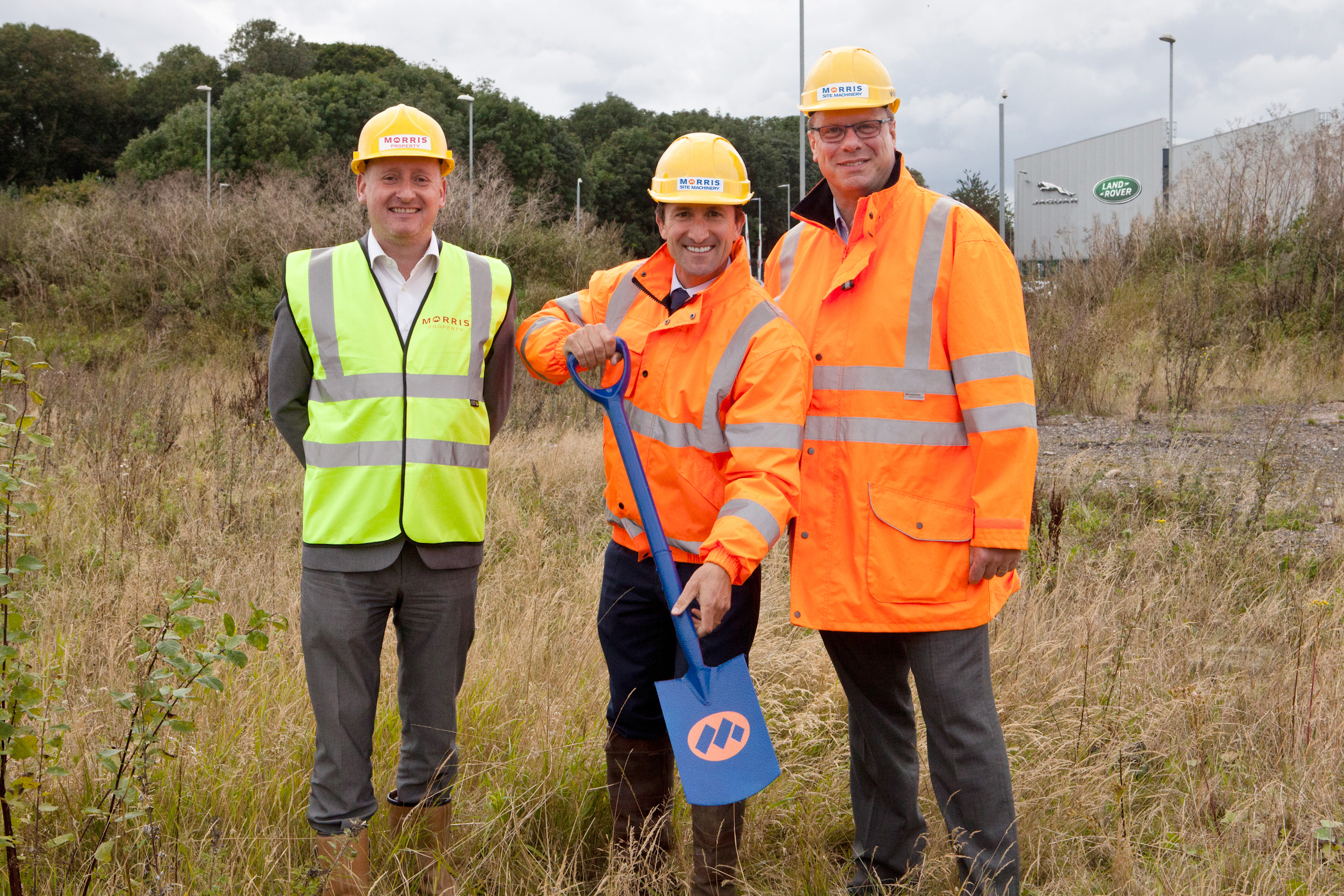 Work begins to develop prime i54 site for sister Site Machinery business
