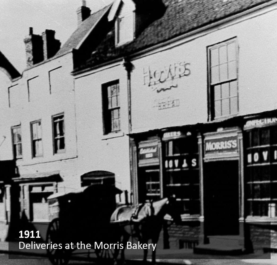 Deliveries at the Morris Bakery