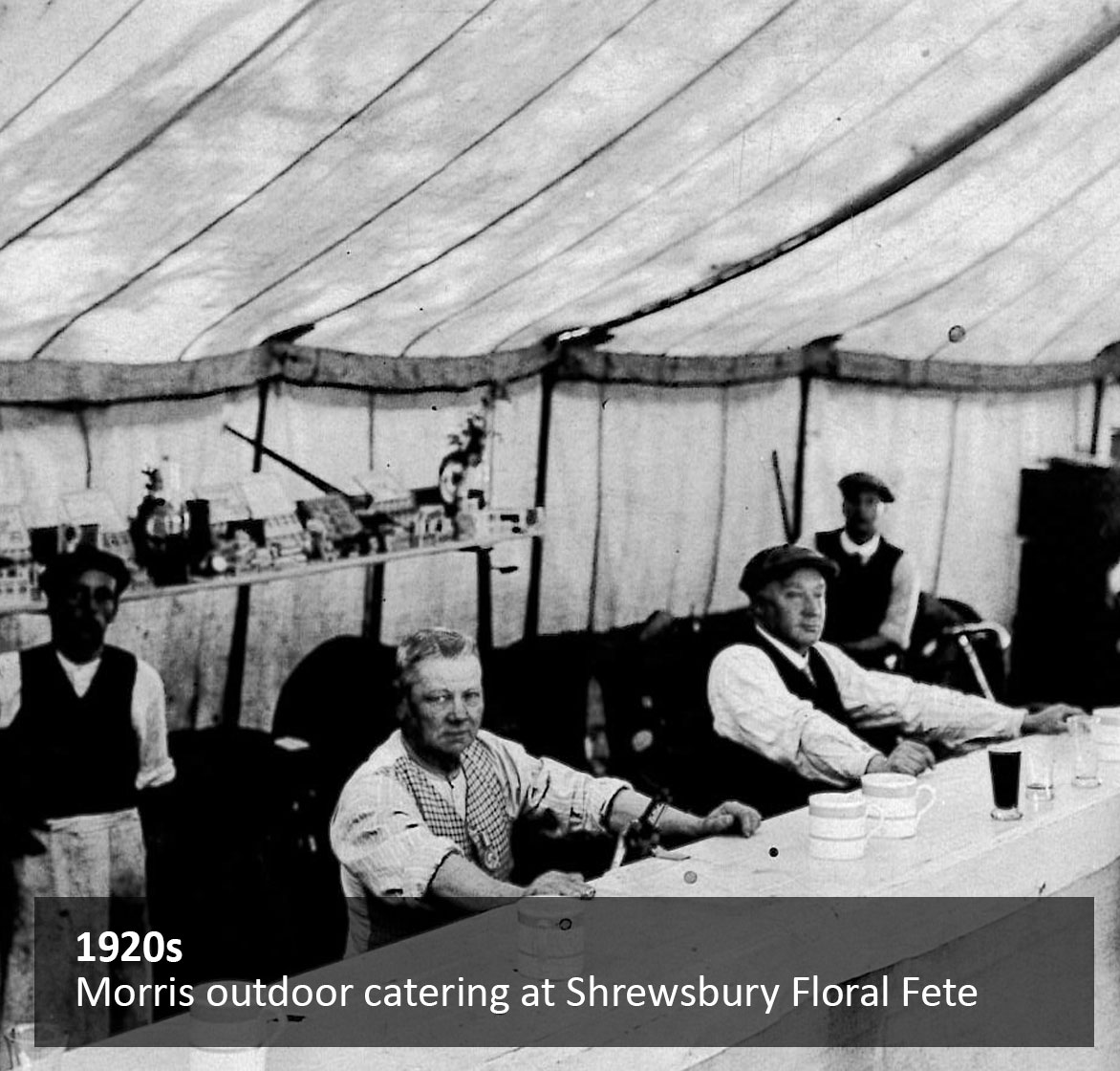 Morris outdoor catering at Shrewsbury Floral Fete