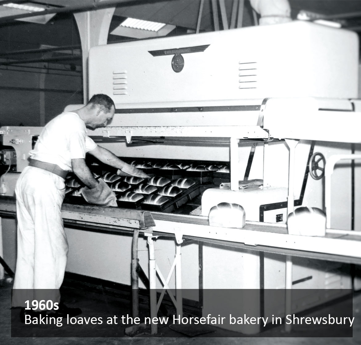 Baking loaves at the new Horsefair bakery in Shrewsbury