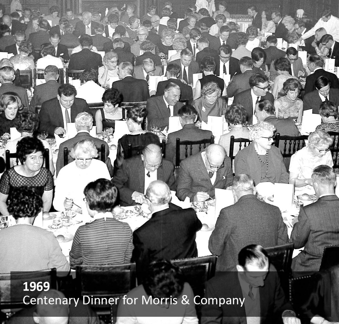 Centenary Dinner for Morris & Company