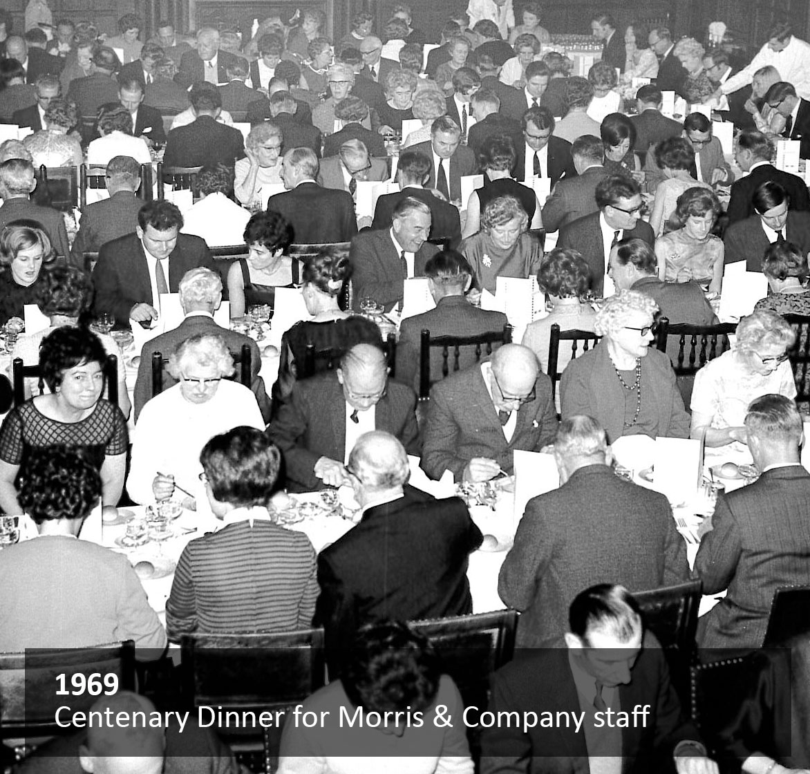 Centenary Dinner for Morris & Company staff