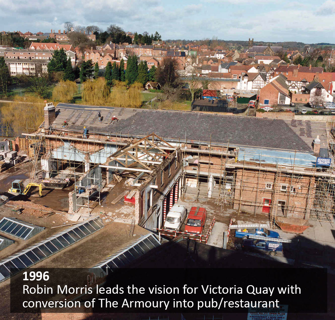 Robin Morris leads the vision for Victoria Quay with conversion of The Armoury into pub/restaurant