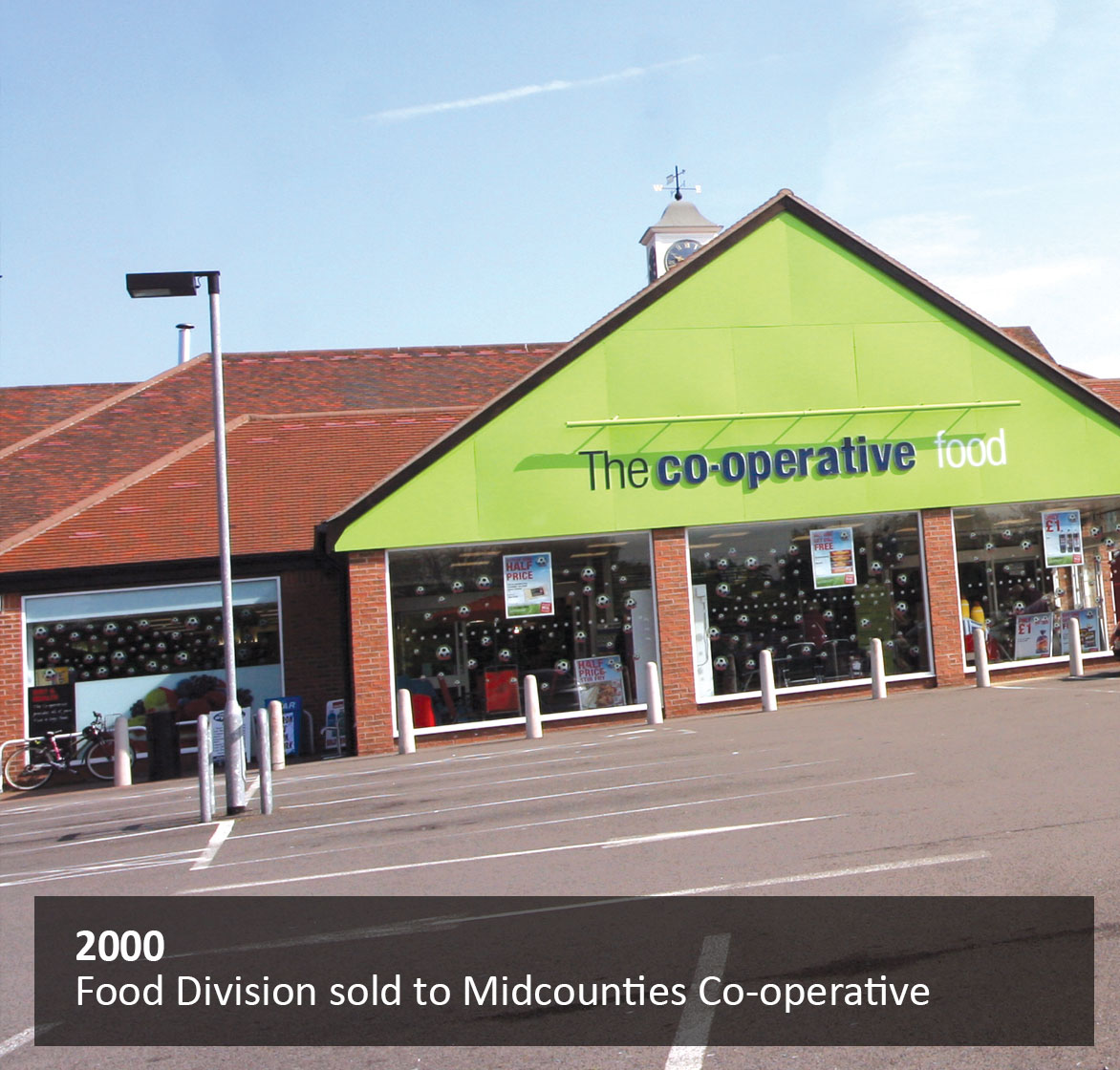 Food Division sold to Midcounties Co-operative
