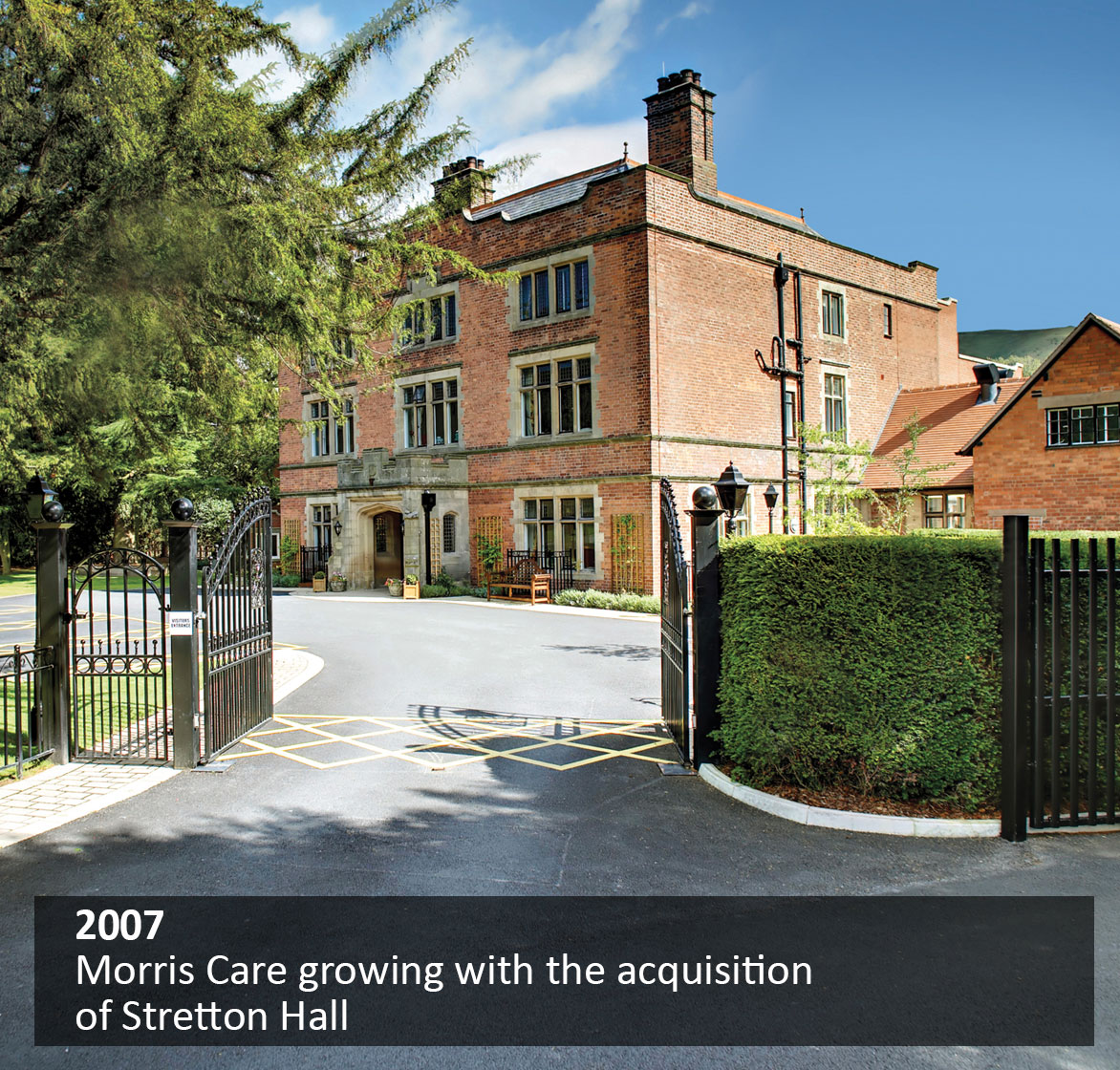Morris Care growing with the acquisition of Stretton Hall