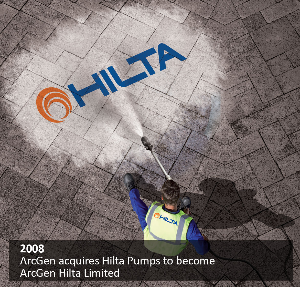 ArcGen acquires Hilta Pumps to become ArcGen Hilta Limited