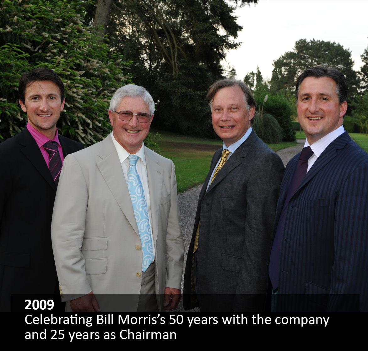 Celebrating Bill Morris's 50 years with the company