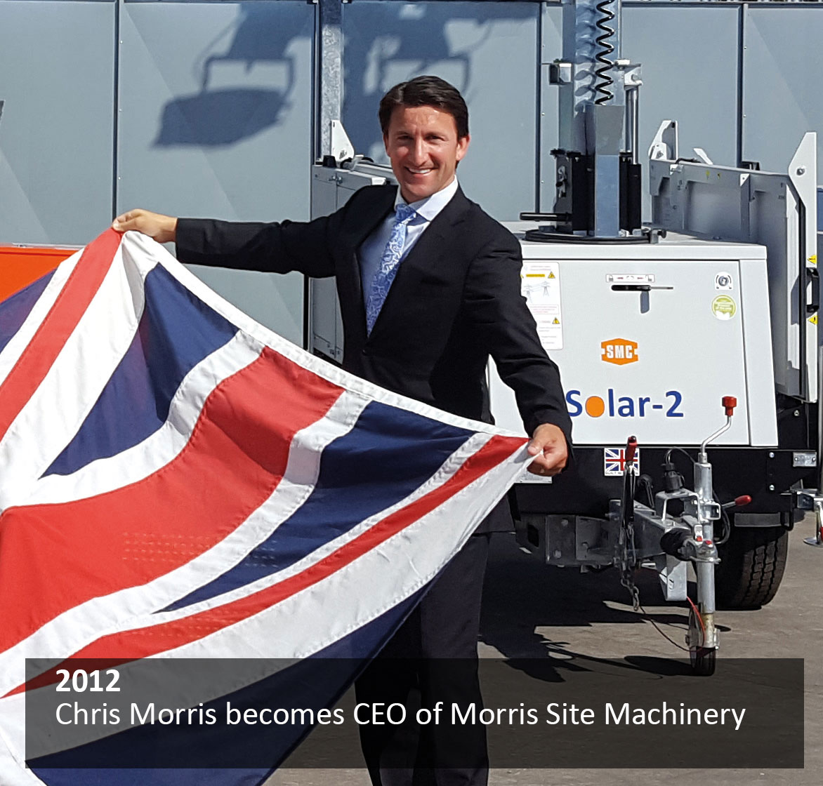 Chris Morris becomes CEO of Morris Site Machinery