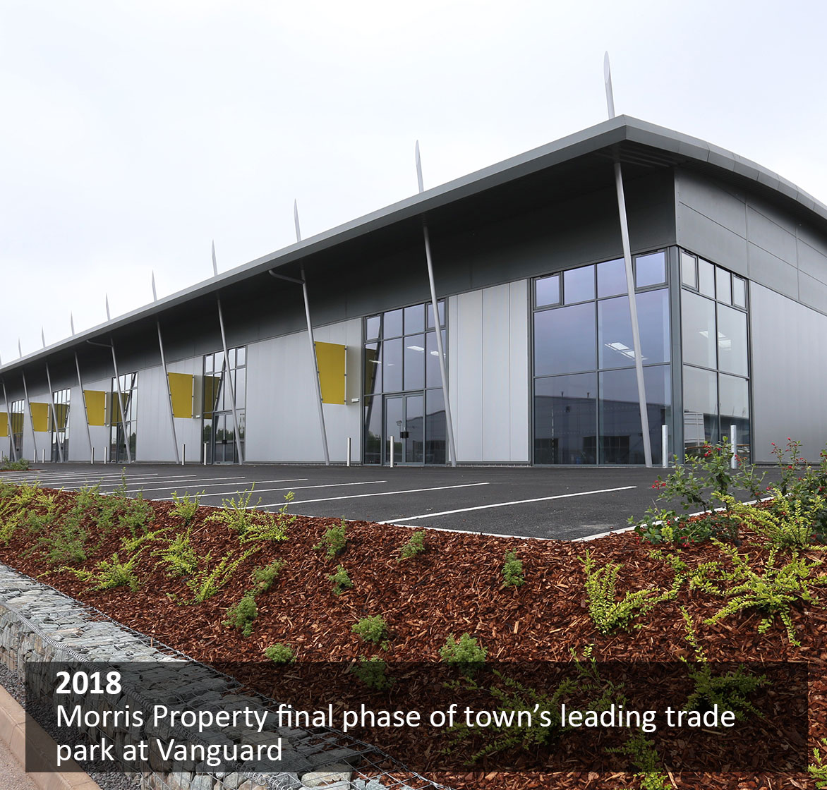 Morris Property final phase of town's leading trade park at Vanguard
