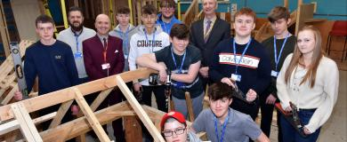 Supporting youngsters in the construction industry