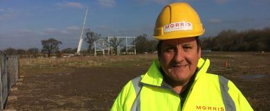 Morris Property site manager chosen for building awards finals