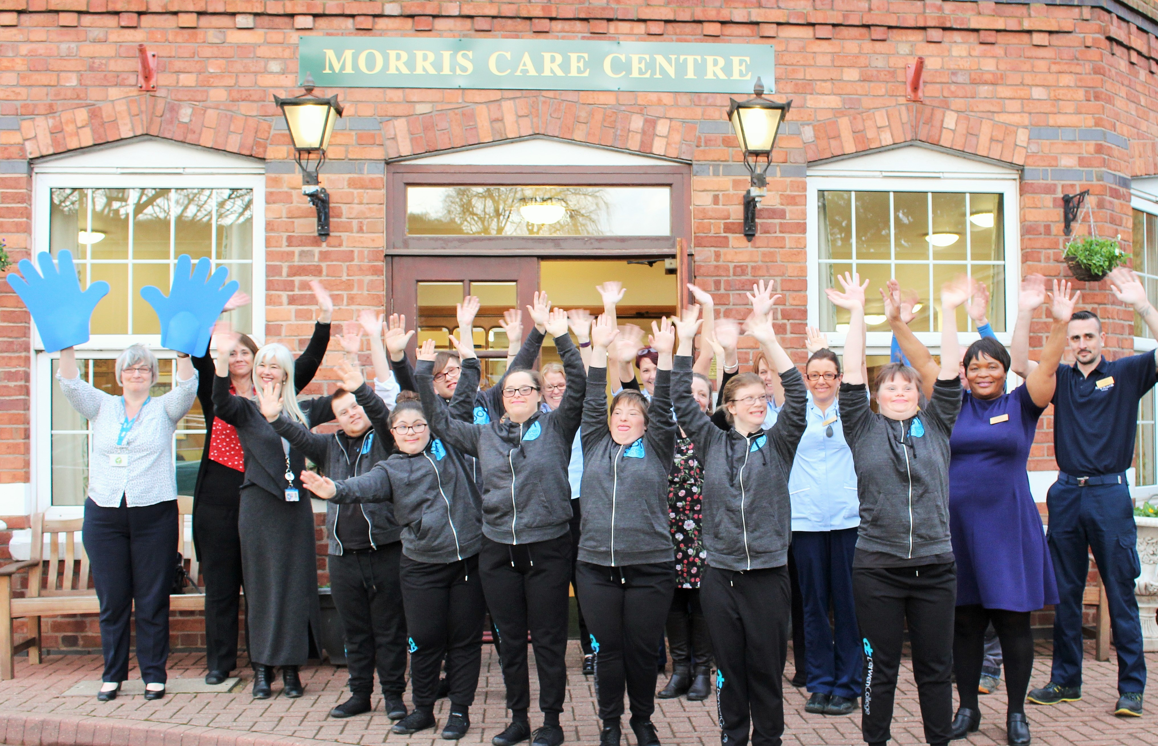 Derwen on Tour - Making waves for dignity at Morris Care Centre