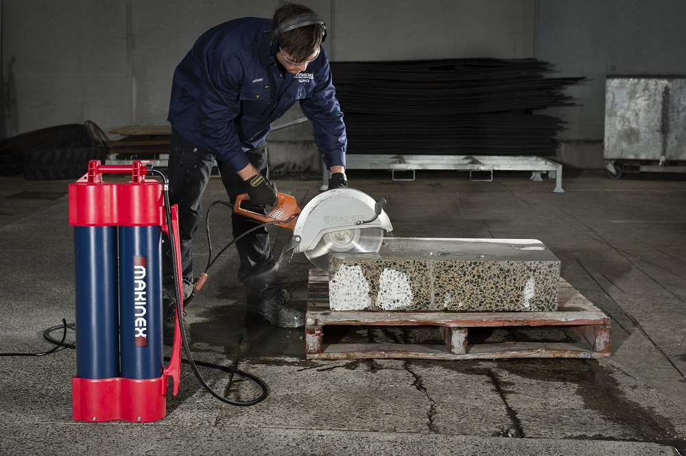 Dust suppression water system is the go-to product from Morris Site Machinery
