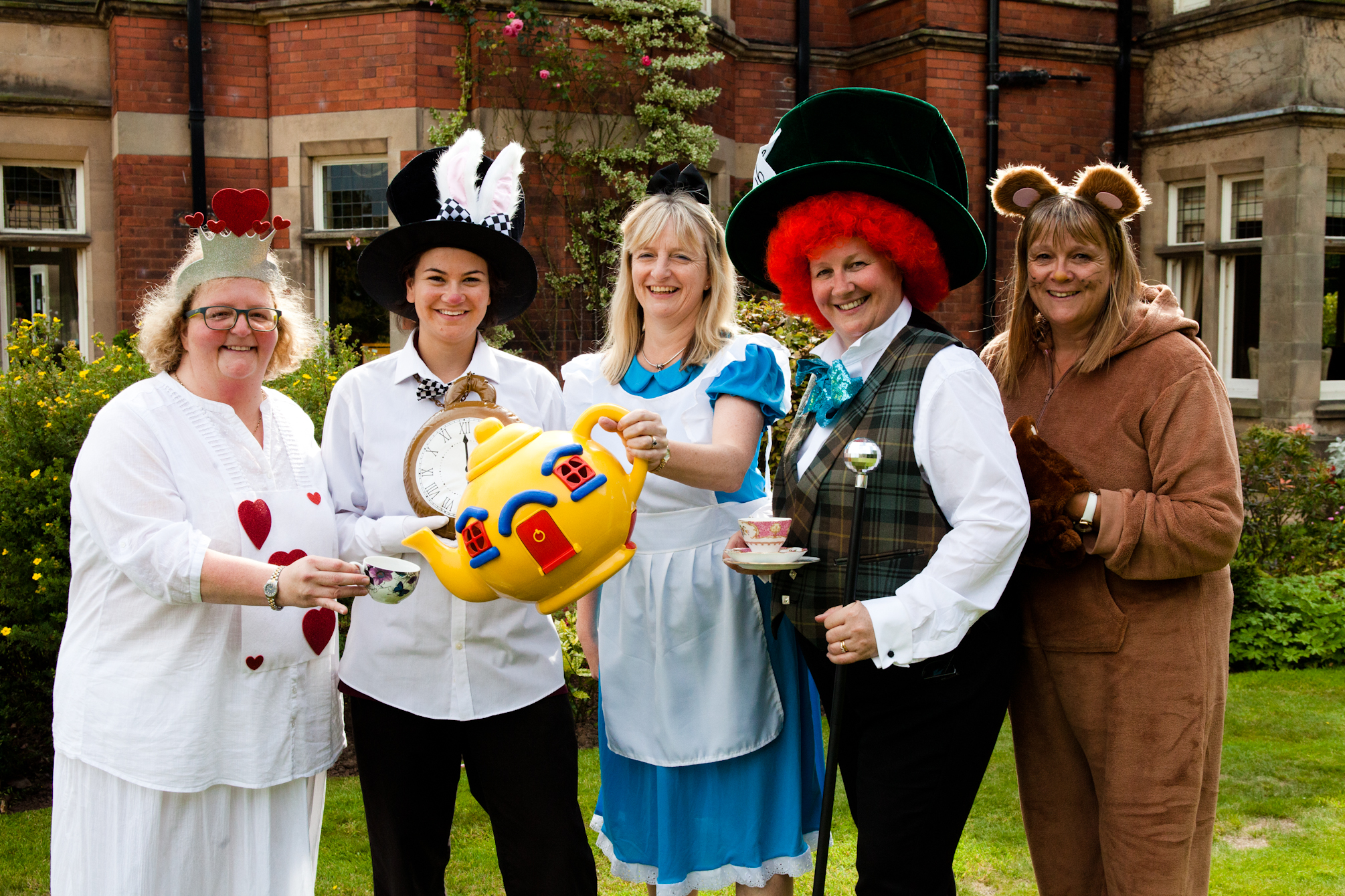 Corbrook jumps down the rabbit hole into Wonderland for summer tea party
