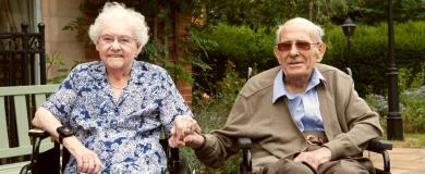 Seventy years of married bliss celebrated at Stretton Hall