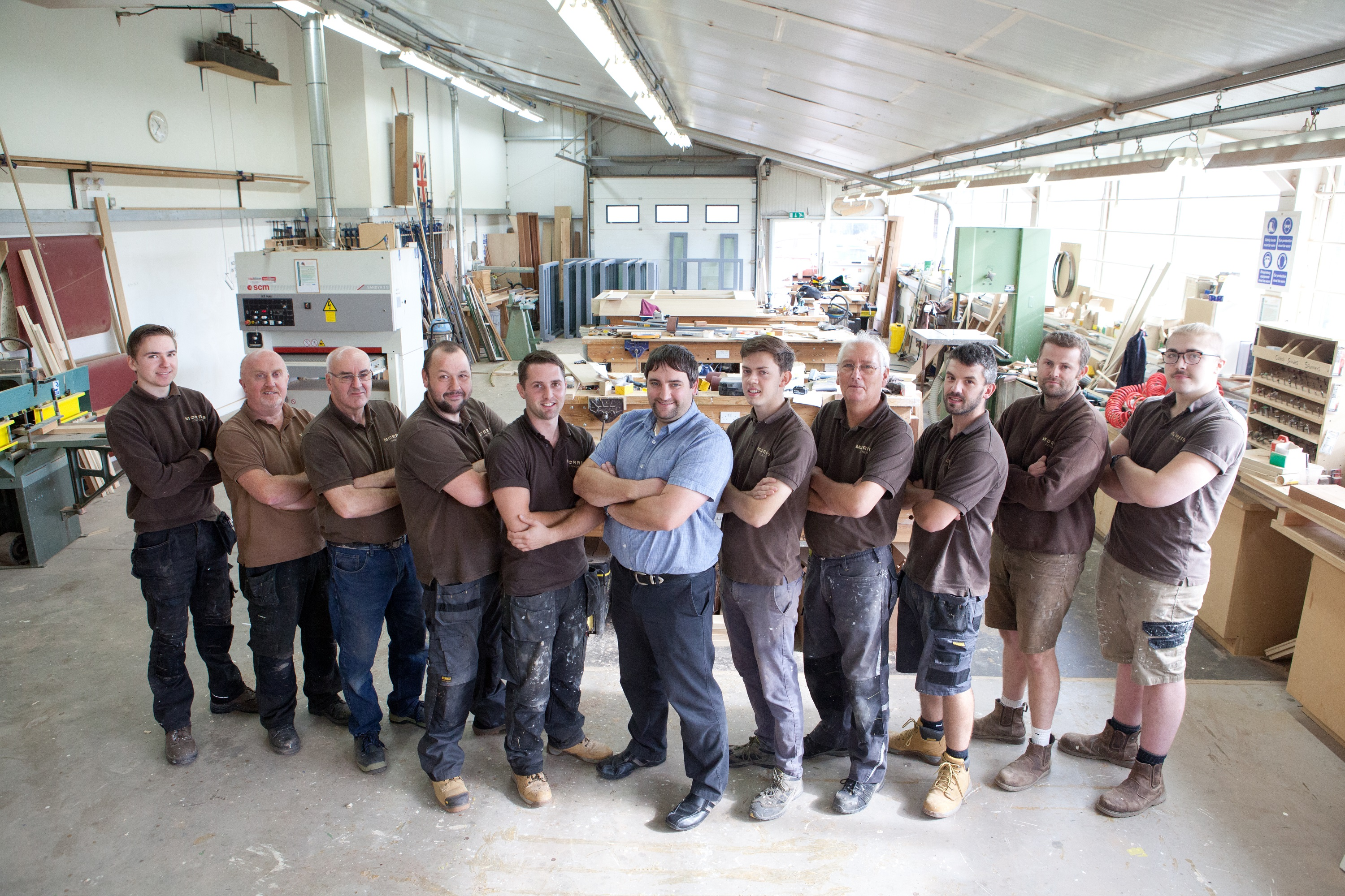 Morris Joinery appoints new manager to take helm