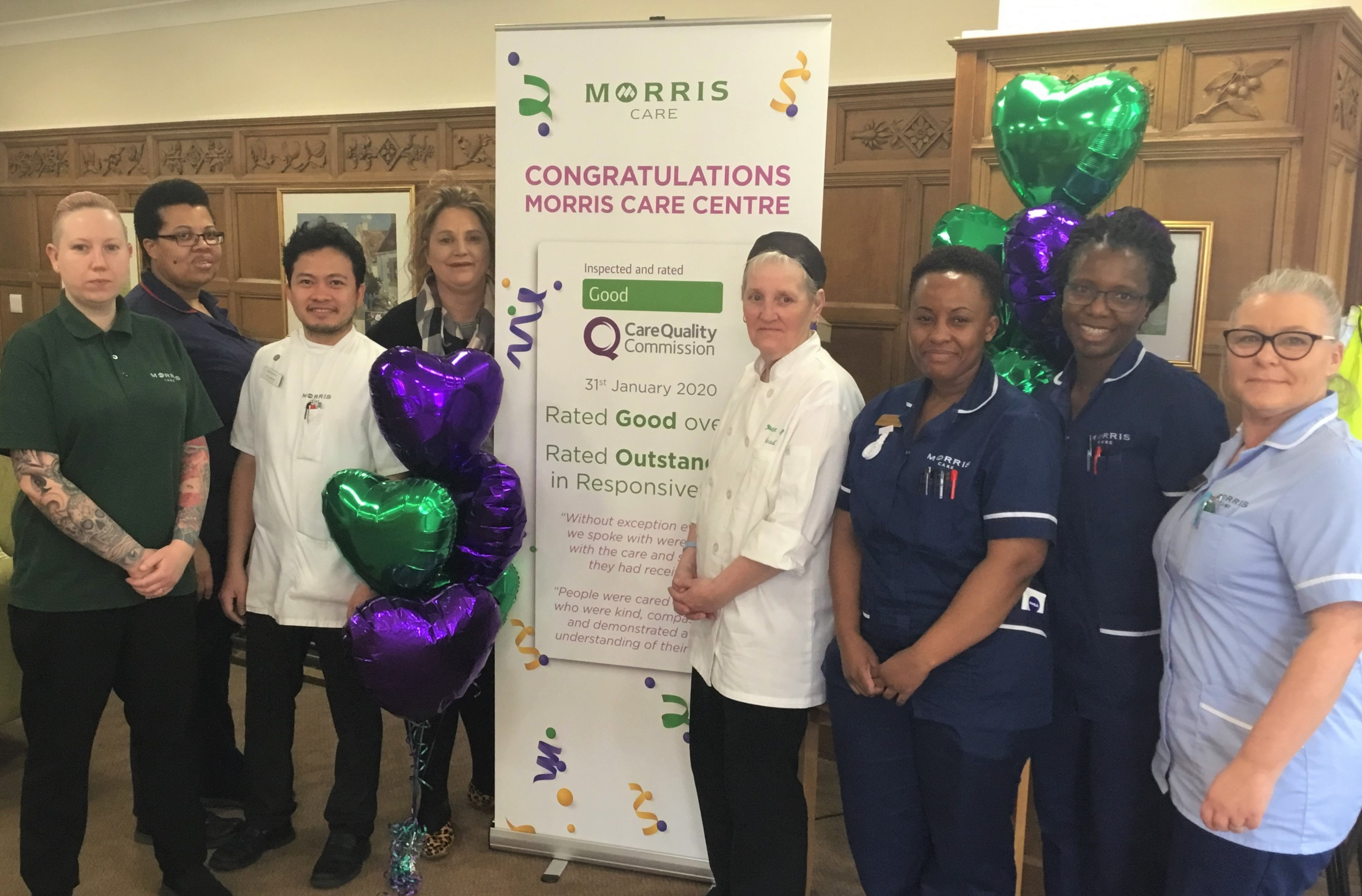 Shropshire care home commended by inspectors