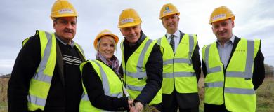 Morris Property prepares for take-off at factory site