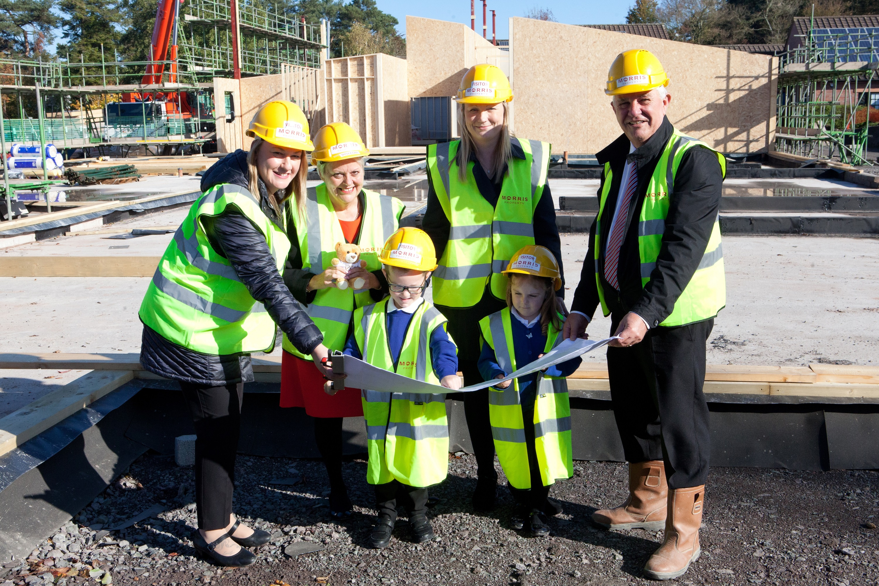 Contractor gets work under way for school's expansion