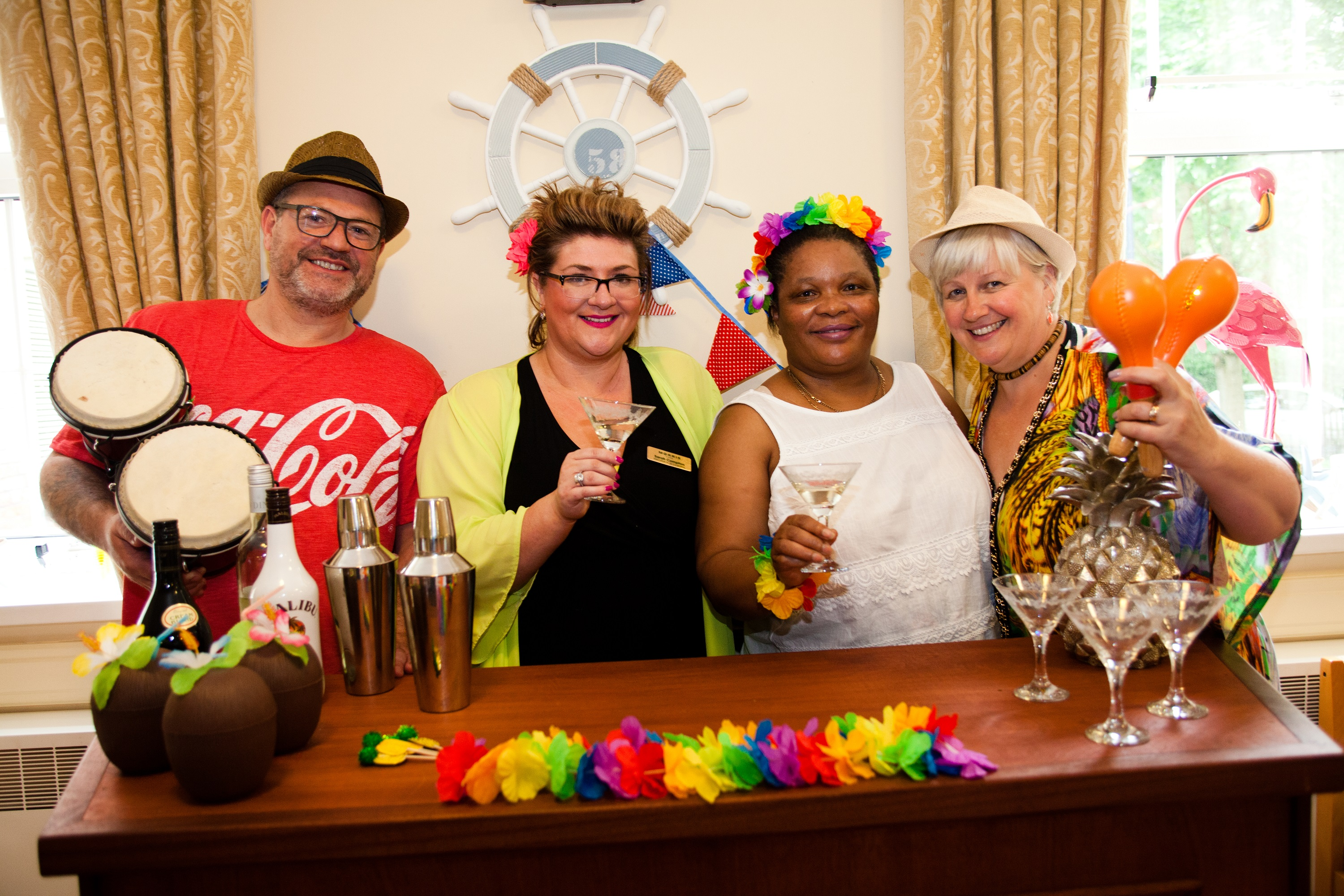 Care residents embark on Jewel of the Caribbean