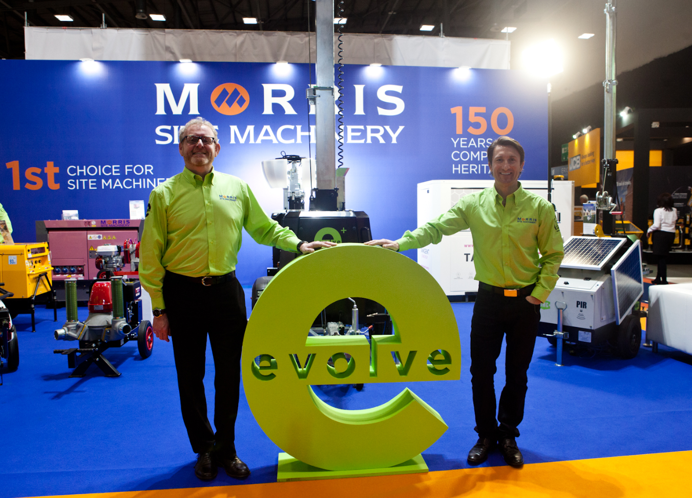 Morris Site Machinery means business on international stage