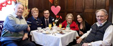 Sharing the love at Stretton Hall