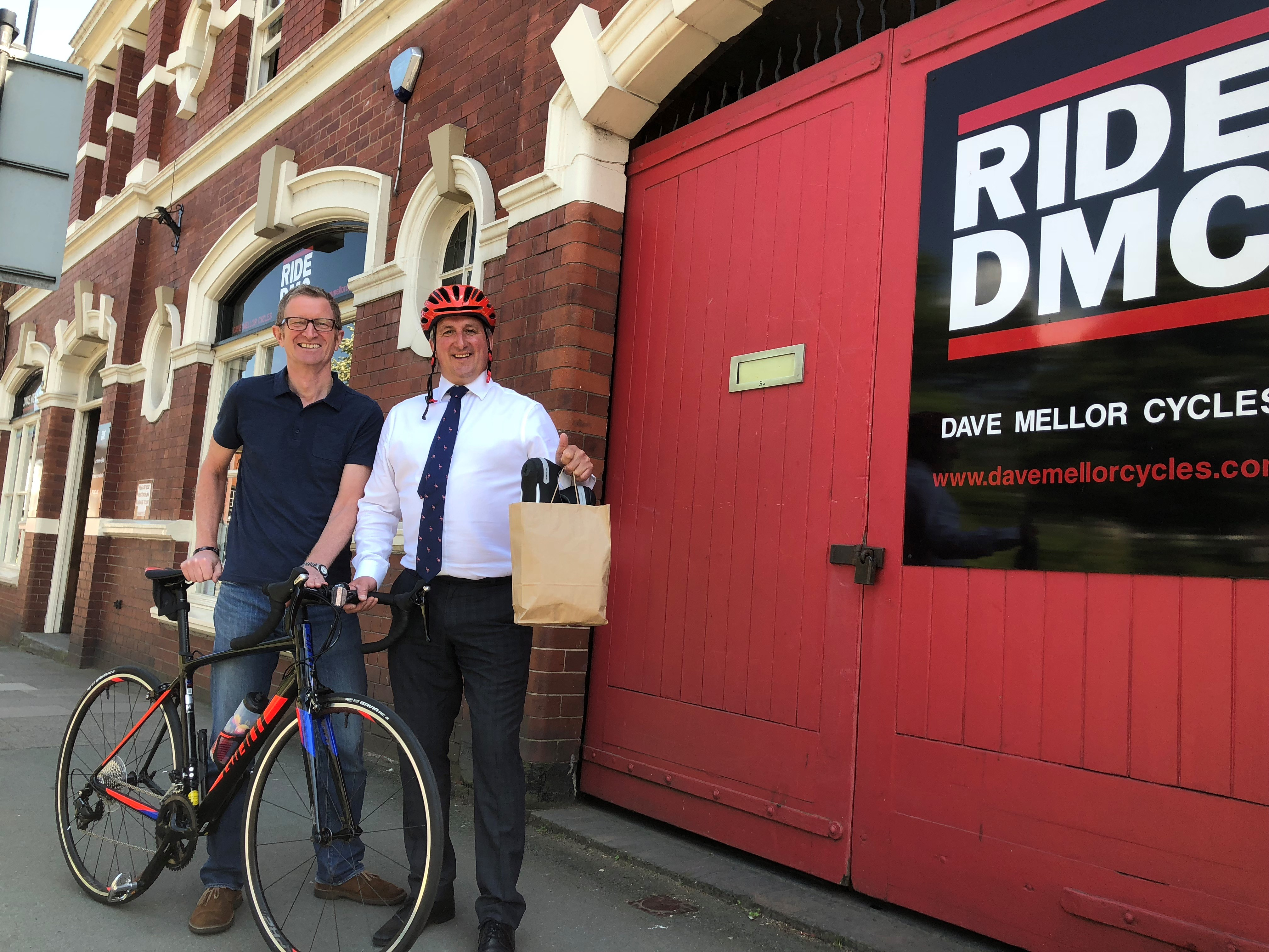 Shropshire cyclists ride to thank First World War generation