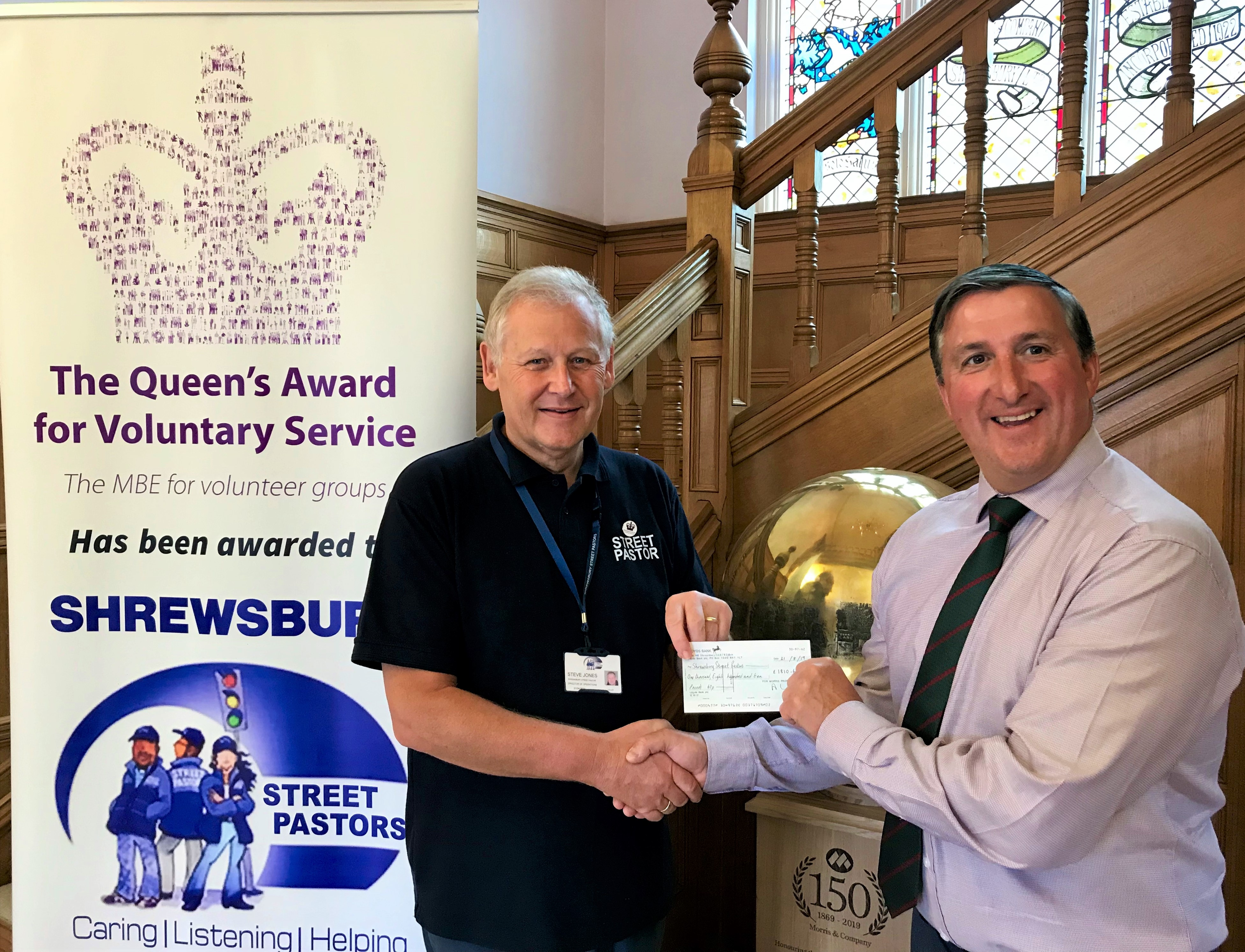 Business gives helping hand to Shrewsbury Street Pastors