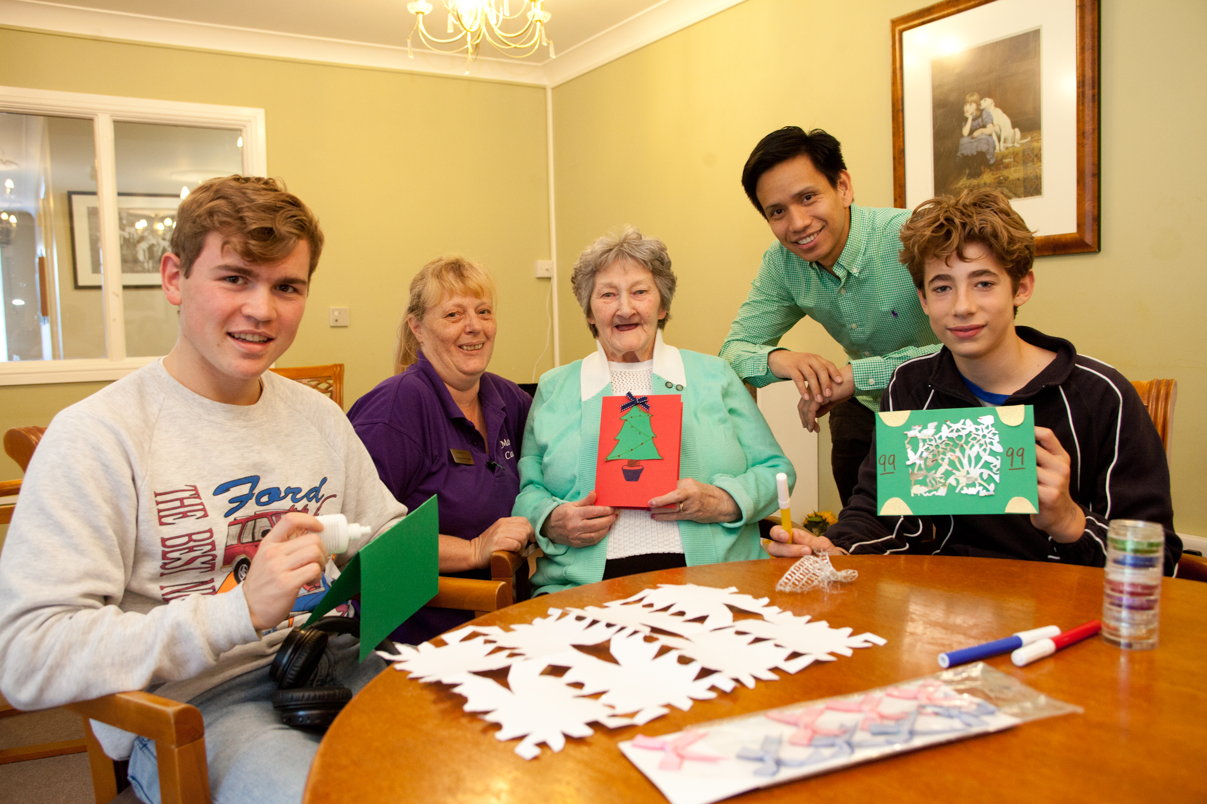 Care home tunes into the health benefits of music and art