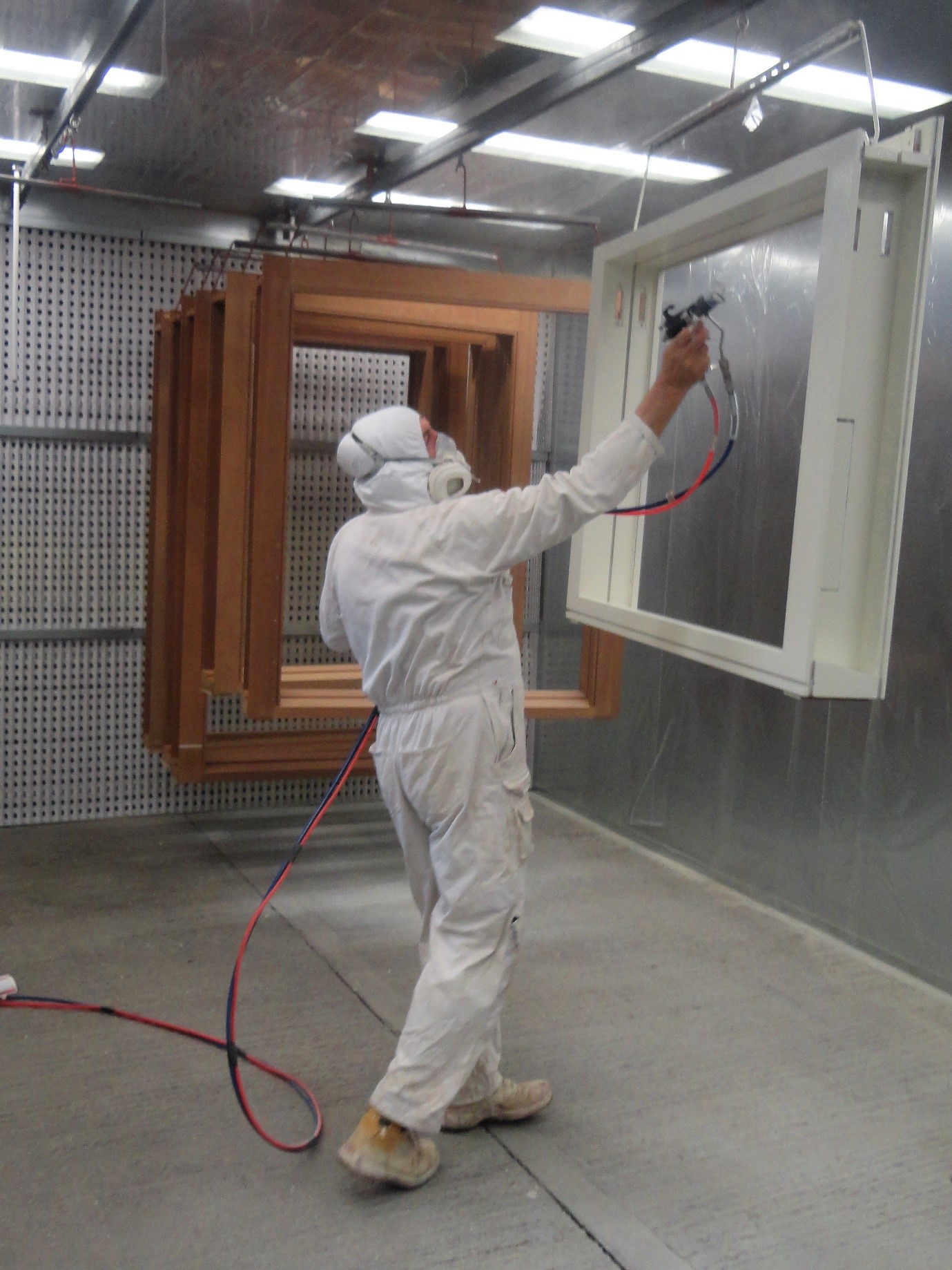 Morris Joinery expands paint spray booth service