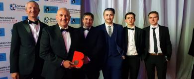 Morris Joinery crafts win in Shropshire Business Awards