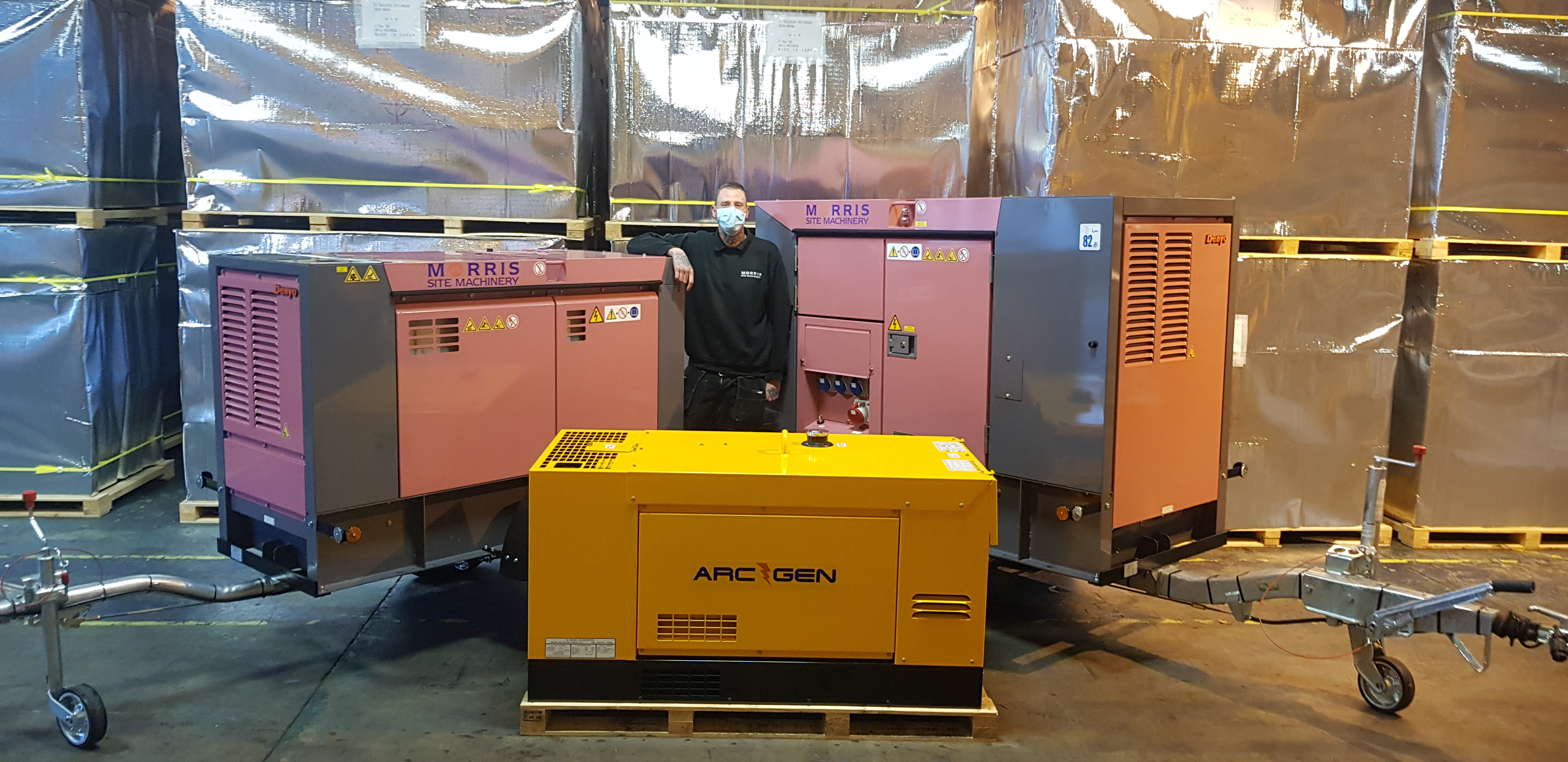 £4 million stock Investment for Site Machinery Business