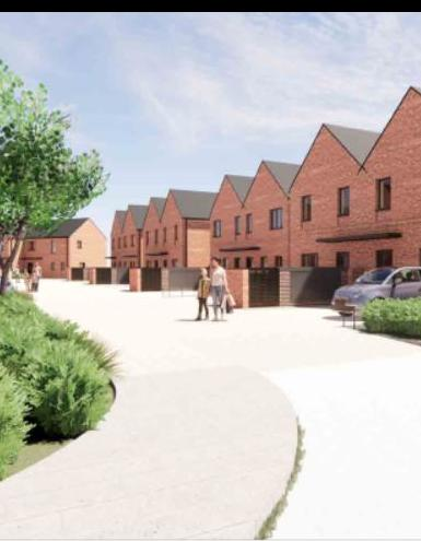 £4.4m contract win to build Frith Close in Shrewsbury