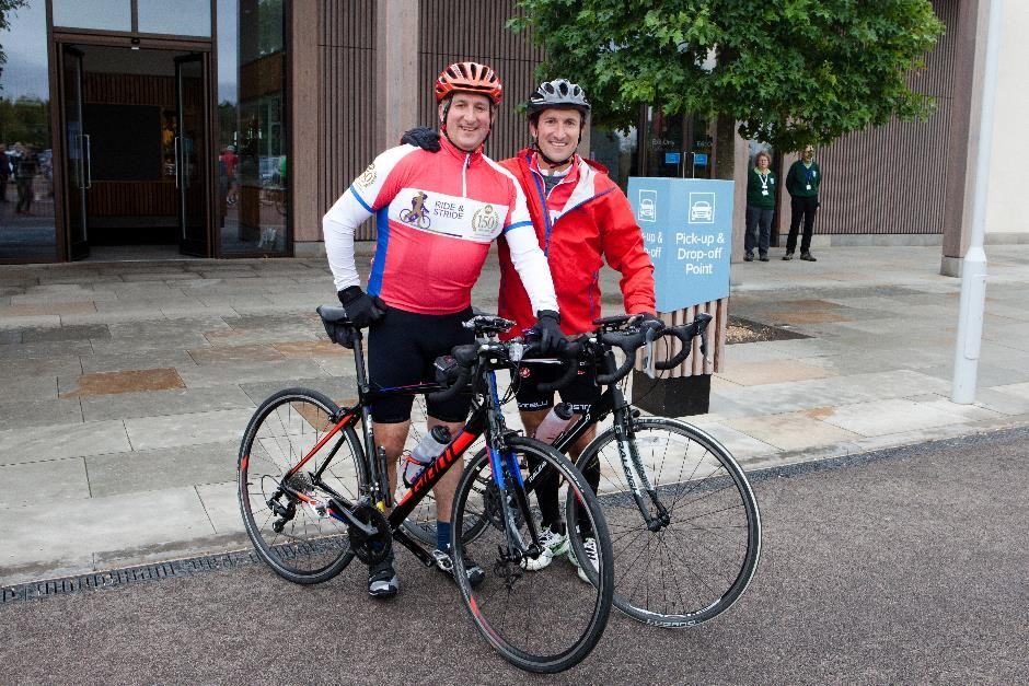150 mile cycle challenge for Alzheimer's Society